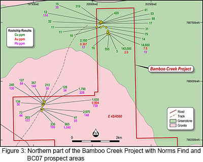 Bamboo Creek Gold Project Figure 3